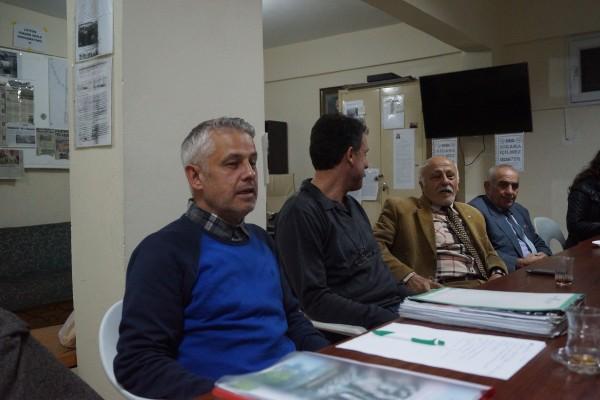 Siteder yönetimi Lütfü Durmaz, Erkan Bakkal, İbrahim Gözbaşı, Nihat Korkmaz